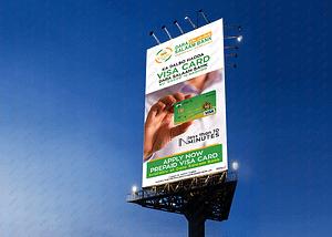 Portrait billboard